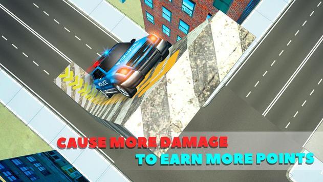 Police Car Crash Test Sim 3D screenshot 10