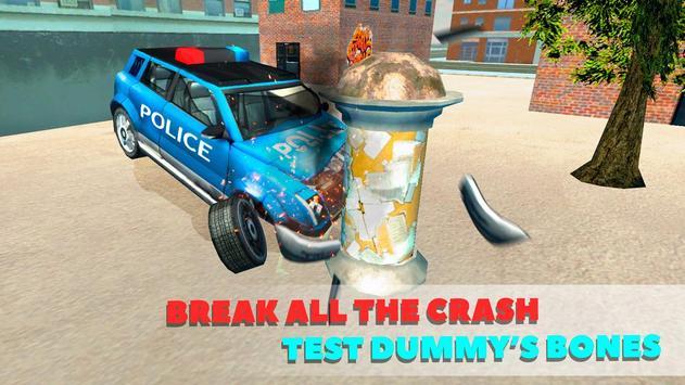 Police Car Crash Test Sim 3D screenshot 9