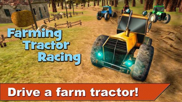 Farming Tractor Racing 3D poster