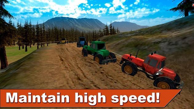 Farming Tractor Racing 3D screenshot 1