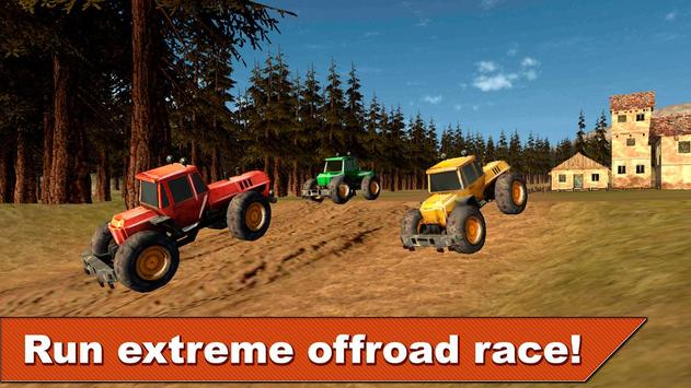 Farming Tractor Racing 3D screenshot 2