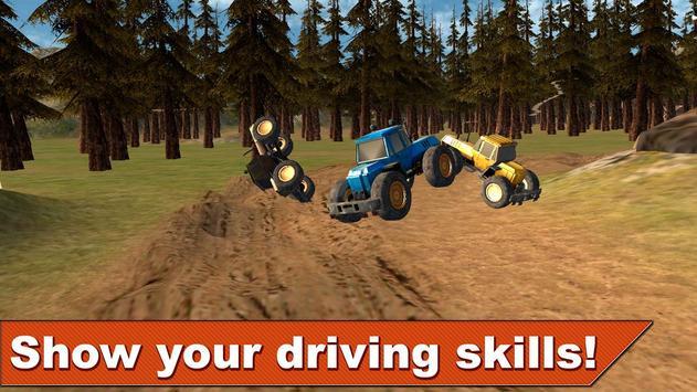 Farming Tractor Racing 3D screenshot 3