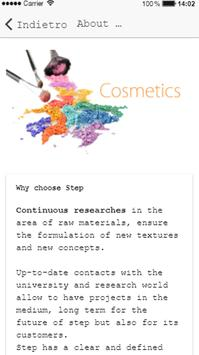 Step Cosmetici screenshot 1