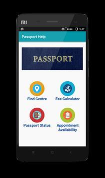 Passport Status Check poster
