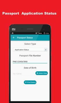 Passport Status Check apk screenshot