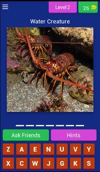 Water Creature Challenge apk screenshot