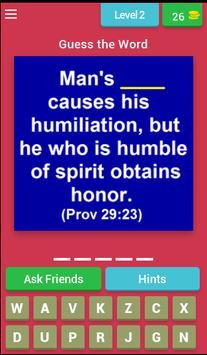 Book of Proverbs Quiz apk screenshot