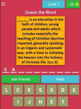 Catechism Quiz screenshot 5