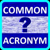 Common Acronym Quiz icon