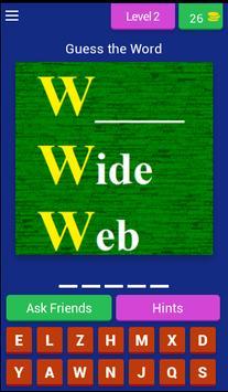 Common Acronym Quiz apk screenshot