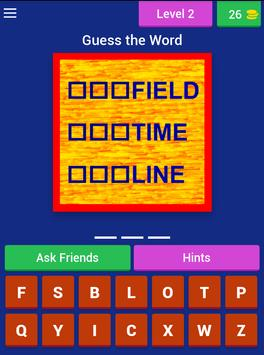 Compound Word Challenge apk screenshot