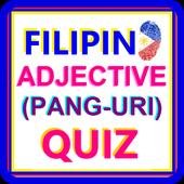 Pinoy Adjective Quiz (Filipino Quiz Game) icon