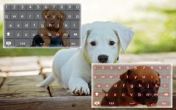 My Pet Puppy Keyboard poster