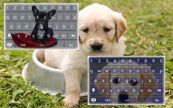 My Pet Puppy Keyboard apk screenshot