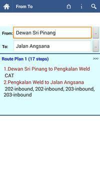 Penang Bus Info apk screenshot