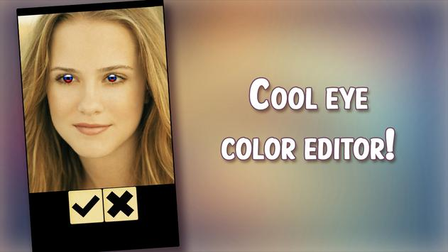 Eye Color Photo Booth poster