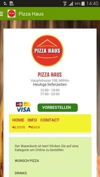 Pizza Haus poster