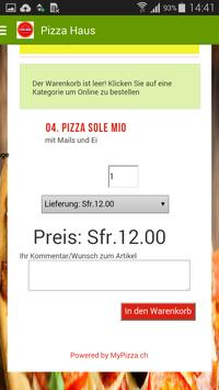 Pizza Haus apk screenshot