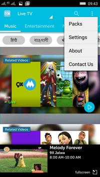 myplex Live TV for qatar apk screenshot