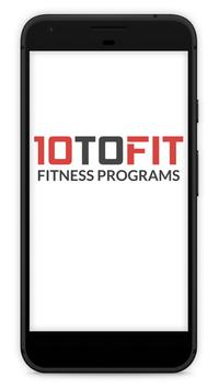 10toFit Fitness poster