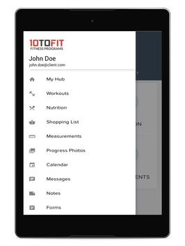 10toFit Fitness screenshot 6