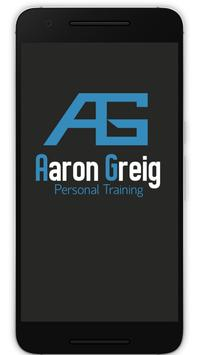 Aaron Greig Personal Training poster