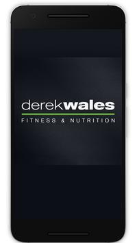 Poster Derek Wales Fitness&Nutrition