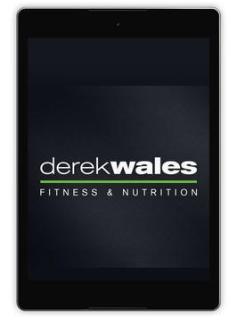 5 Schermata Derek Wales Fitness&Nutrition