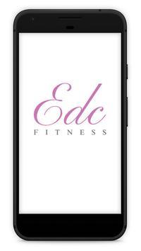EDC Fitness poster