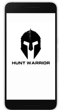 HUNT WARRIOR poster