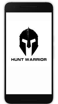 HUNT WARRIOR poster