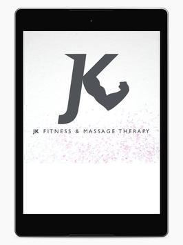 JK Fitness and Massage apk screenshot