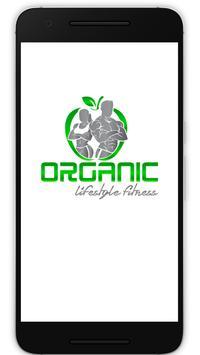 Organic Lifestyle Fitness poster