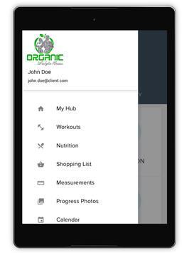 Organic Lifestyle Fitness screenshot 5