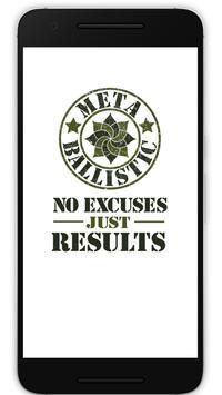 Meta Ballistic poster