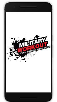 Military Workout poster