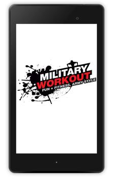 Military Workout apk screenshot