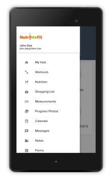 NutriMeFit apk screenshot