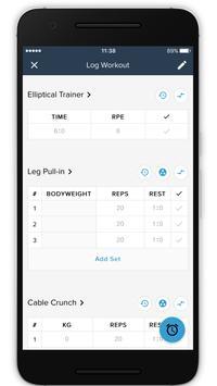 S.P.Fitness screenshot 4