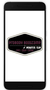 ProBody BootCamp poster