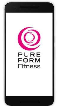 Pure Form Fitness poster