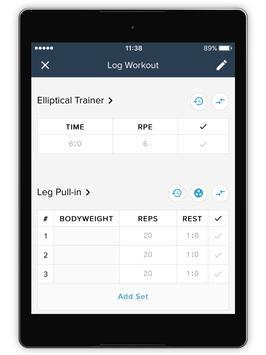 The 1 Fitness & Performance screenshot 9