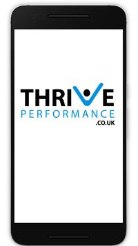 Thrive Performance poster