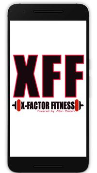 X-Factor Fitness poster