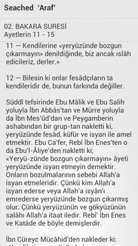 Tafsir Ibne Kathee`r - Turkish apk screenshot