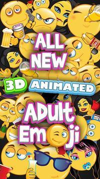 Adult Stickers - Dirty Flirty Emojis screenshot 4
