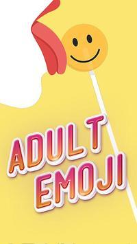 Adult Stickers - Dirty Flirty Emojis screenshot 1