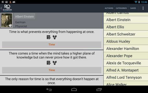 Random Quotes Free apk screenshot