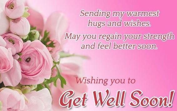 GET WELL SOON... Poster