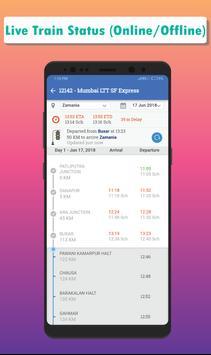 Live Train Status, Confirm Train Seat & PNR Status screenshot 1